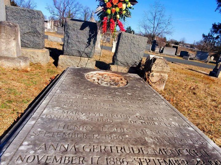 Mencken Death Observance 2 Stone