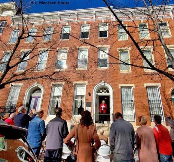 Mencken House reopening 2